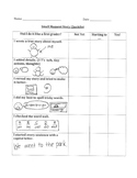 Differentiated Small Moment Checklists (Narrative Writing)