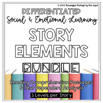 Differentiated Social & Emotional Reading and TDA Growing Bundle