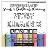 Differentiated Social & Emotional Reading and TDA; Story Elements Bundle