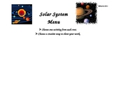 Differentiated Solar System Four Square