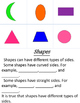 Differentiated Sort and Write- Shapes