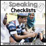 ESL Speaking Rubrics