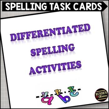 Differentiated Spelling Activities