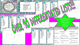 4th Grade Differentiated Spelling Bundle