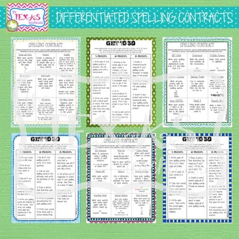Differentiated Spelling Contracts