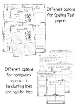 Differentiated Spelling {Grade 2}