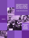 Differentiated Spelling Instruction Grade 4