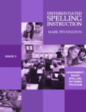 Differentiated Spelling Instruction Grade 5