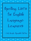 Differentiated Spelling Lists for English Language Learner