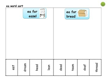 Differentiated Spelling Pattern/ Phonics word sorts--Cut and Paste bundle