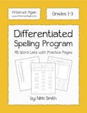 Differentiated Spelling Program (Grades1-3)
