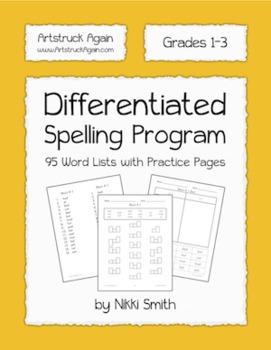 Differentiated Spelling Program (Grades1-3)