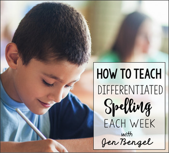 Differentiated Spelling Webinar: Site License
