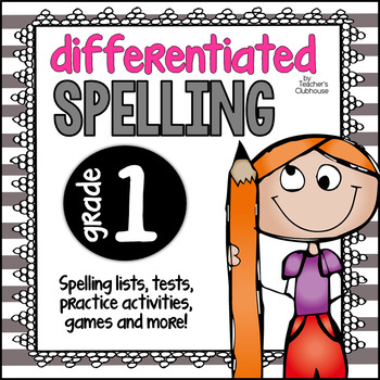 Differentiated Spelling for 1st Grade