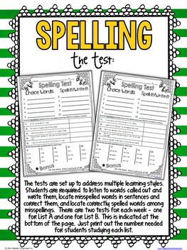 Differentiated Spelling for 2nd & 3rd Grade