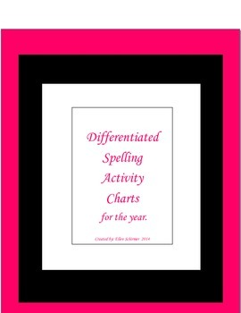 Differentiated Spelling for Any List
