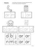 Differentiated Spelling/Phonics Practice 21 - words with ar