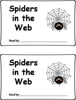 Differentiated Spider Emergent Readers
