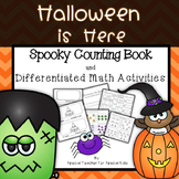 Halloween Counting Book and Math Activities {Differentiated}