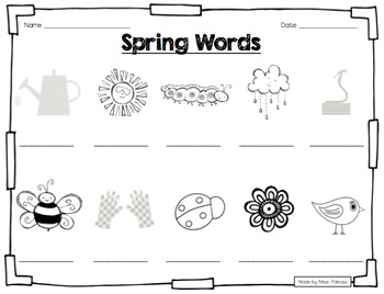 Simply Spring! - Differentiated Literacy Activities