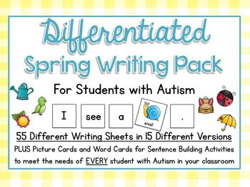 Differentiated Spring Writing Pack (850+ Pages)