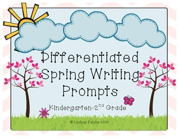 Differentiated Spring Writing Prompts