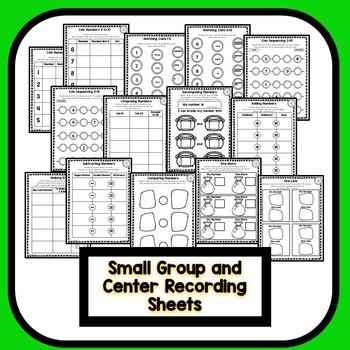 Differentiated St. Patrick's Day Number Sense Math for Preschool & Kindergarten