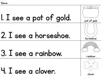 Differentiated St. Patty's Day Writing Pack {15 Different Page Versions}