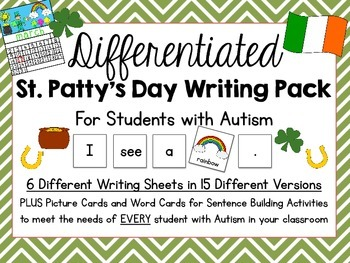Differentiated St. Patty's Day Writing Pack {15 Different