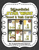 Differentiated Star Wars Addition Math Scoot & Task Cards