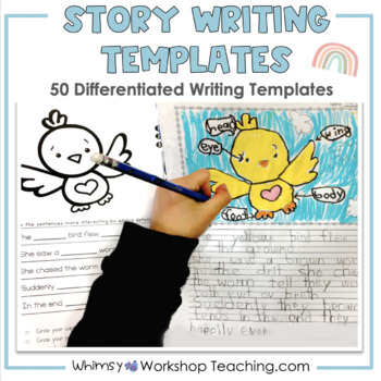 Differentiated Story Writing Templates Set 1 (from Full Year Writing Bundle)
