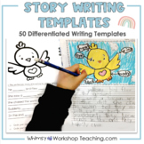 Differentiated Story Writing Templates Set 1 (from Full Ye