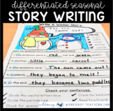 Differentiated Story Writing Templates Set 2