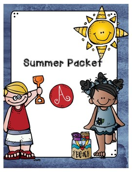 Differentiated Summer Packets (3 Levels!)
