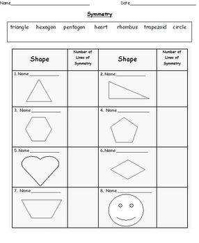 differentiated symmetry worksheets grades 1 2 by miss christina 39 s class. Black Bedroom Furniture Sets. Home Design Ideas