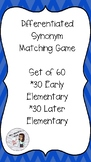Differentiated Synonym Matching Game