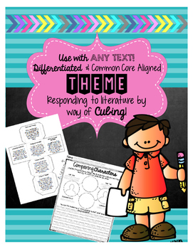 Differentiated THEME Comprehension Strategy Practice: Use