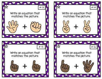 Differentiated Task Card Bundle for Before/After, Addition, and Subtraction