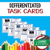 Differentiated Task Cards, Learning Styles Activities