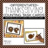 Thanksgiving Counting Task Cards