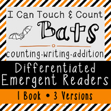 Differentiated Emergent Readers - I Can Touch and Count Bats