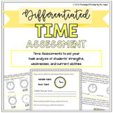 Differentiated Time Assessment: Pre-Test and Scoring/Group