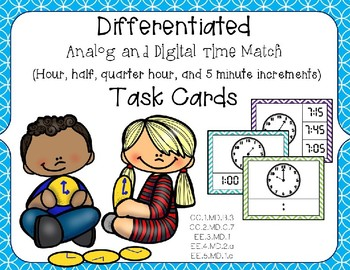 Differentiated Time Clip Card MEGA PACK
