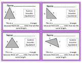 Differentiated Triangle Exit Tickets
