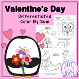 Valentine's Day Differentiated Color By Sum