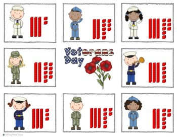Differentiated Veteran's Day Cardinality Activities/Centers
