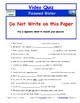Differentiated Video Worksheet, Quiz & Ans. for NOVA - Poisoned Water *