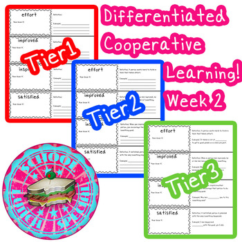 McGraw-Hill Wonders Differentiated Vocabulary Cards Unit 1 Week 2