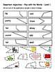 Differentiated Vocabulary Packet for ESL Students - Important Adjectives