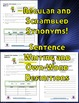 Differentiated Vocabulary for Grade 2, 3 and 4 - Full Year - 35 Units